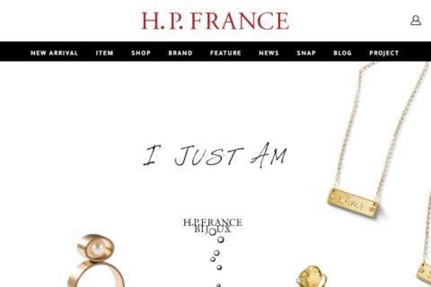 H.P.FRANCE (アッシュ・ペー・フランス)